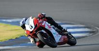 First point for Sarath Kumar in ARRC
