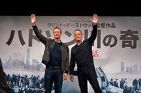 Tom Hanks and Aaron Eckhart promote 'Sully' in Japan