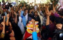 Body of slain Maoist leader Ajitha buried