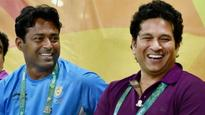 After world record Davis Cup feat, Leander Paes reveals his future goals to Sachin Tendulkar