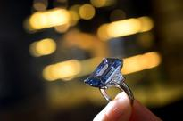 A 14.6-Carat Blue Diamond Just Became the Most Expensive Jewel Ever Sold at Auction