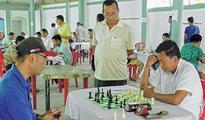 State Level Chess Tourney  Rd 4 Somokanta, Ningthem secure 12 pts