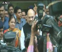 Amit Shah votes; asks people to continue development journey