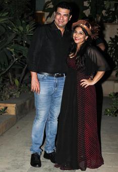 PIX: Vidya, Karan, Arjun at New Year's party
