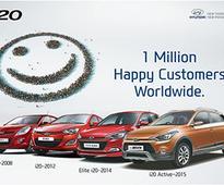 Hyundai Motor surpasses 1 million unit sales of i20 models
