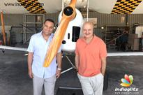 Anupam Kher shoots in Cape Town for 'The Indian Detective'