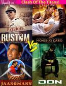 Jaan-E-Mann-Don, Rustom-Mohenjo Daro  10 times Salman Khan, Shah Rukh Khan, Akshay Kumar clashed at the box office and created history!