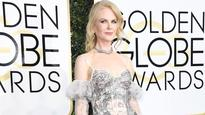 Red Carpet Nicole Kidman Is Wearing Alexander McQueen at the 2017 Golden Globe Awards