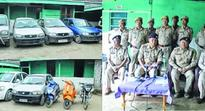 Thoubal cops recover 9 stolen vehicles