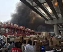At Least 3,800 Shops Destroyed By Fire At Sabon Gari Market In Kano  NEMA
