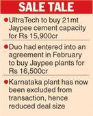 UltraTech seals Jaypee cement deal