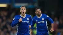 Chelsea's Eden Hazard happy for Diego Costa to finish as leading scorer
