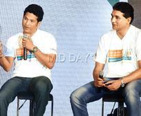 Sachin Tendulkar launches Mumbai half marathon