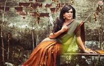 India's transgender sari models winning hearts