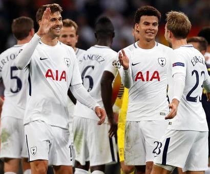 PHOTOS: Tottenham stun champions Real Madrid