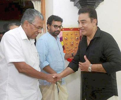 My colour is definitely not saffron: Kamal Haasan amid buzz on political plunge