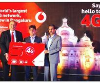 Vodafone rolls out 4G in Bangalore