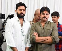 Power star Pawan Kalyan and Nithiin launch their first film together in Hyderabad  view pics
