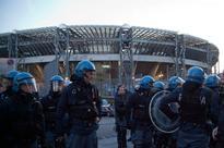 Fresh violence mars Napoli-Legia clash