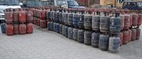 Two held for cooking gas black marketing