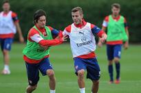 Jack Wilshere and Tomas Rosicky start for Arsenal Under-21s against Newcastle after injury lay-offs