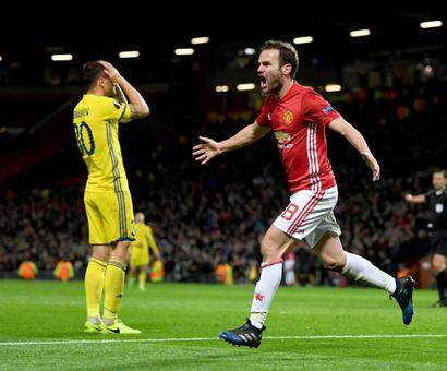 PHOTOS: United, Schalke and Ajax into Europa League last eight