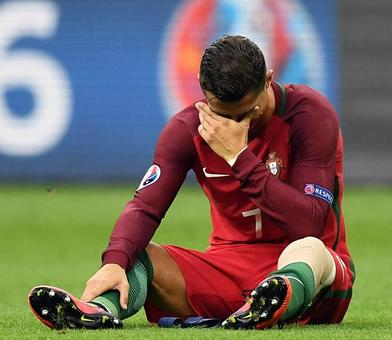 Injured Ronaldo to miss Portugal's World Cup qualifier