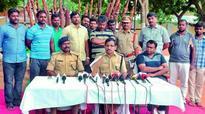 Red sanders smuggler arrested in Anantapur