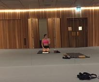 #thekaylamovement: Hunger and grazed knees at the end of Week Three