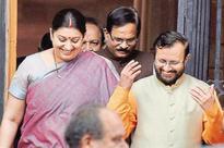 Smriti Irani dropped as HRD minister as Narendra Modi reshuffles cabinet