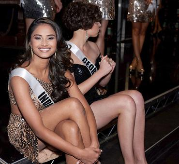 Behind-the-scenes: Miss Universe contestants live it up!