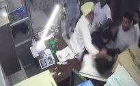 Akali Dal Leader, Son Caught On Camera Assaulting Nurse, Arrested