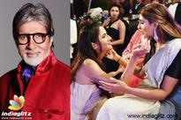 MOST CHARMING Big B comments on Katrina & Shweta's pic