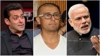 Amidst Sonu Nigam's tweets, THESE clips of Salman Khan & PM Narendra Modi pausing for Azaan are going VIRAL!