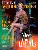 Check out: Pooja Hedge is a mix of modern and traditional on Femina Wedding Times cover