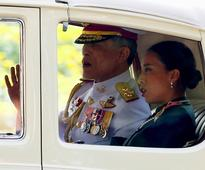 Thailand's new king just made his first public appearance