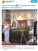 The Olympic Flame Lights Up Twitter