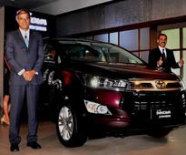 Toyota Innova Crysta launched in Kolkata, MPV priced at 14.24 lak...