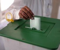 AJK Prime Minister Abdul Majeed cast vote in parent constituency LA II