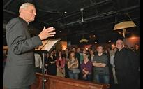 Cardinal Wuerl visits D.C. pub to talk Francis, faith with young Catholics