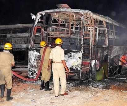 Cauvery violence: Central forces deployed in Bengaluru