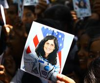 School girls to Sunita Williams: Please never forget India