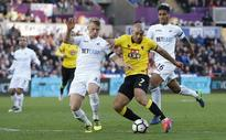 Bradley's Swansea end slump but fail to beat Watford
