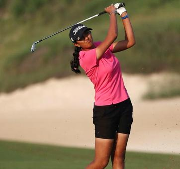 Aditi survives scare to win Abu Dhabi Open golf