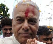 BJP Leader Yashwant Sinha to Leave Jail After Two Weeks