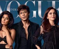 Shah Rukh Khan cheers for Vogue Women of the year