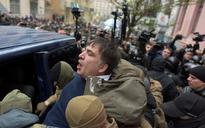 Georgian ex-president Mikheil Saakashvili freed after dramatic rooftop arrest in Ukraine