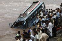 37 killed, 24 hurt as bus falls into river in Gujarat