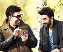 Karan Johar, Ranbir Kapoor and Ayan Mukherjee's boys night out