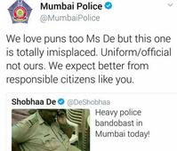 MP Cop Who Was Fat-Shamed By Shobha De Replies To Her Tweet; This Is What He Said